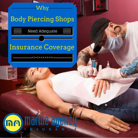 Why Body Piercing Shops need Adequate Insurance Coverage