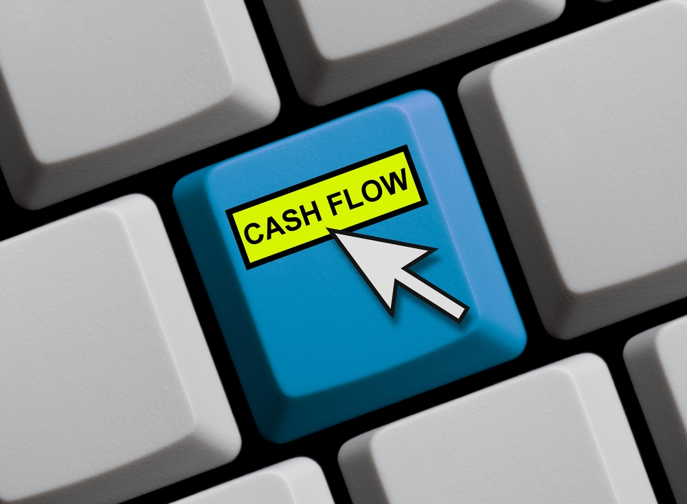 Computer Keyboard - Cash Flow