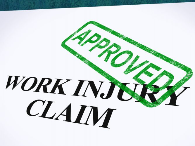 Work Injury Claim Approved Shows Medical Expenses repaid