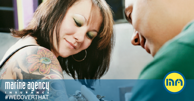Tattoos in the Workplace: Best Places to Get Them