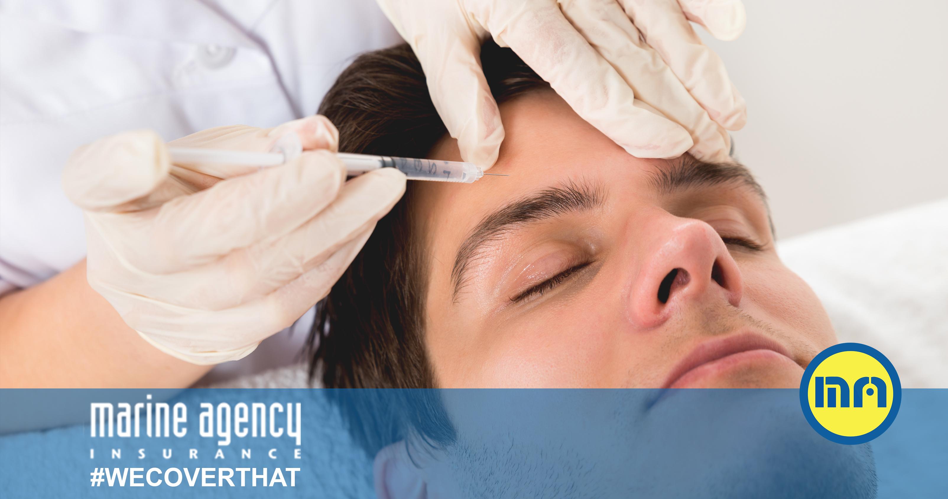 botox for men's foreheads