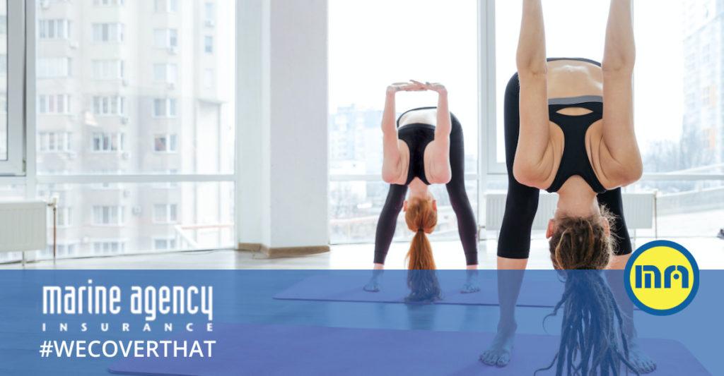 insurance for yoga studios